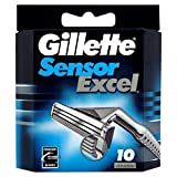Gillette Sensor Excel Blades 10S