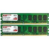 Komputerbay 4Go 2X 2Go DDR2 533MHz PC2-4200 PC2-4300 Mémoire DDR2 533 (240 PIN) DIMM bureau