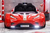 Cilek GTI LED Autobett ROT