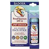 Badger Company All Season Face Stick Sonnenschutz fürs Gesicht LSF 30 ohne Duftstoffe 18,4 g