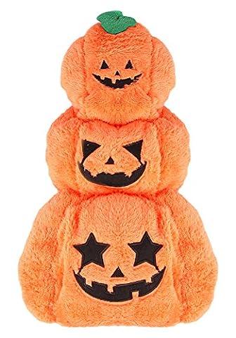 La Vogue Déguisement Veste Pour Chien Halloween Costume Choit Manteau Citrouille Orange Size3