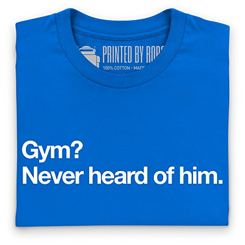 Gym T-Shirt, Herren Royalblau