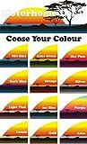 Smarts-Art Wohnmobil Vinyl Graphic Aufkleber Camper Van Wohnmobil-Wohnwagen 700mm x 265mm Sunset
