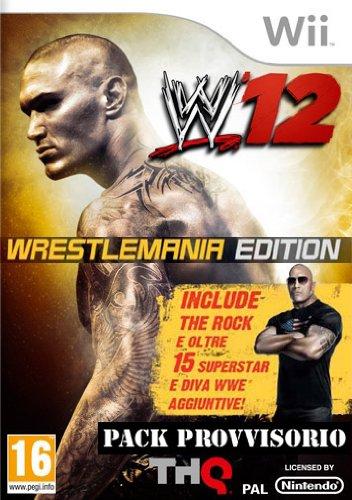 WII WWE 12 (12 Wii Wwe)