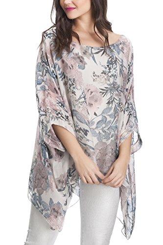 Laura Moretti - Robe en soie surdimensionnée Beige