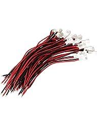Excellway 20Pcs De Connecteurs MLes Femelles Jst 2P Avec