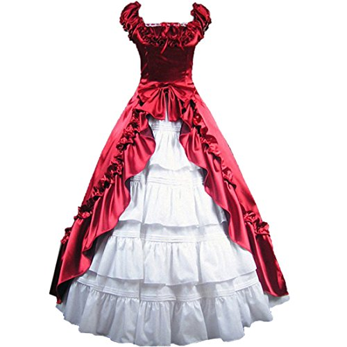 partiss Ruffles Cosplay Lolita gothique vintage robe
