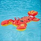 Hummer Schwimmende Aufblasbare Schwimmende Bett Schwimmende Liegen Außenpool Wesentlich Geeignet Für Spielplatz Strand Urlaubsparty (83In X 53In)