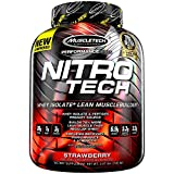 Muscletech Supplemento Nutrizionale Nitro Tech Performance Series 4 lb, Strawberry - 1800 gr