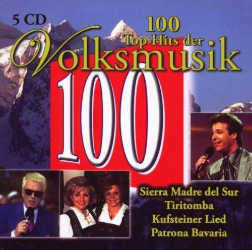 Preisvergleich Produktbild 100 Top Hits der Volksmusik