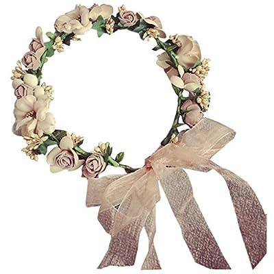 ZGP Couronne de Coiffure Bridal Wreath Beach Accessoires Coiffe Accessoires de Cheveux Photos à la Station Balnéaire