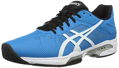 ASICS Gel-Solution Speed 3 Clay, Scarpe da Tennis Uomo, Blu (Blue Jewel/White/Black), 40 EU