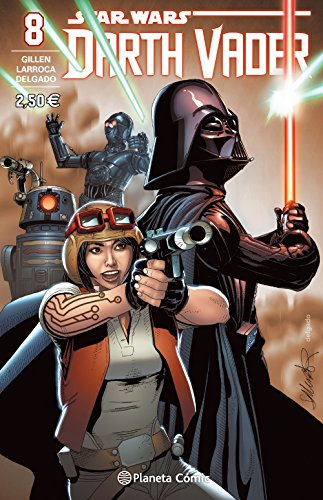 Star Wars Darth Vader nº 08/25 (Star Wars: Cómics Grapa Marvel) por Salvador Larroca