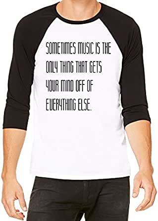 Music power classic baseball jersey for men women for Soft custom t shirts