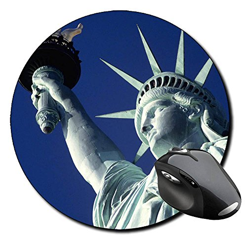 estatua-de-la-libertad-statue-of-liberty-nueva-york-new-york-city-ny-e-round-mousepad-pc
