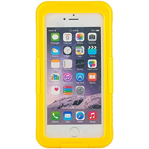Julyfox IPX8 Professional Waterproof Case For iPhone 7(4.7 inch) Scratchproof Touch Compatible(Yellow)
