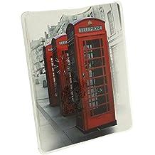 Maranda: linterna MT144 con diseño de cabinas telefónicas de Londres, práctica, de bolso de mano