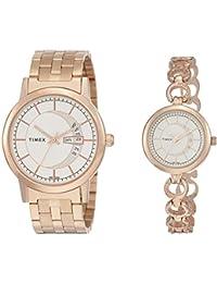 Timex Analog Silver Dial Unisex's Watch-TW00PR231