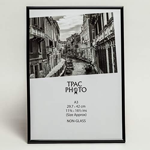 The Photo Album Company A3 29,7 x 42 cm Rücklader ohne Glas Zertifikat / Foto / Bilderrahmen - Schwarz