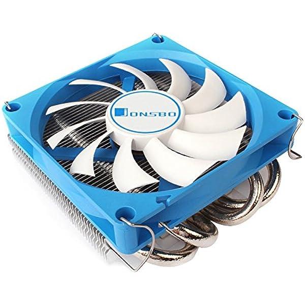Jonsbo Hp 400 90mm Cpu Kühler Rgb Pc Fan Für Intel Computer Zubehör