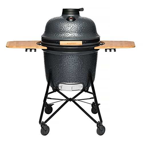 BergHOFF Ceramic BBQ and Oven, Bluestone Grey, Large