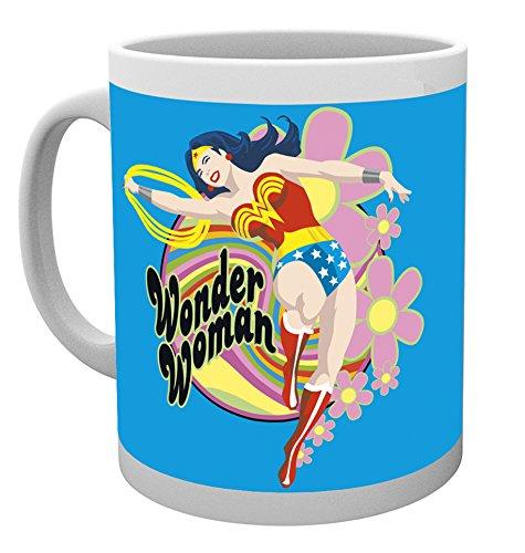 GB Eye LTD, Wonder Woman, Flores, Taza