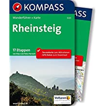 Rheinsteig: Wanderführer mit Extra-Tourenkarte 1:50.000, 17 Etappen, GPX-Daten zum Download (KOMPASS-Wanderführer, Band 5223)