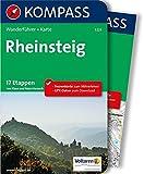 Rheinsteig: Wanderführer mit Extra-Tourenkarte 1:50.000, 17 Etappen, GPX-Daten zum Download: Wandelgids met overzichtskaart (KOMPASS-Wanderführer, Band 5223)