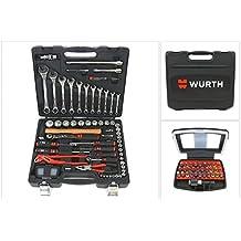 Würth universeller Werkzeug Satz / Set - 91 tlg. im robusten Kunststoffkoffer ( 0965 931 20 )
