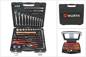 Würth Boîtes à outils: cliquets All in One 91 Pièces Tout dedans NEUF