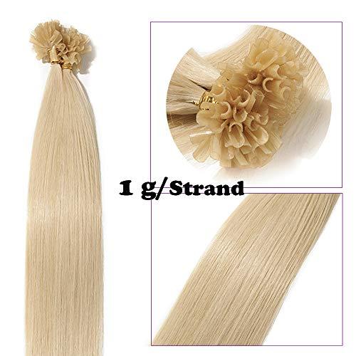 Extension cheratina capelli veri indiani lisci lunghi 18