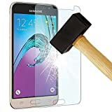 VSHOP Samsung Galaxy J3 (2017) - Véritable vitre en verre trempé PREMIUM ultra résistante - Protection écran