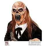 Máscara Cementerio Zombi con Pelo / Máscara Zombie / Halloween / Accesorios de disfraz
