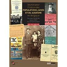 Sources pour l'histoire des populations juives et du judaïsme en Belgique : XIXe et XXe siècles