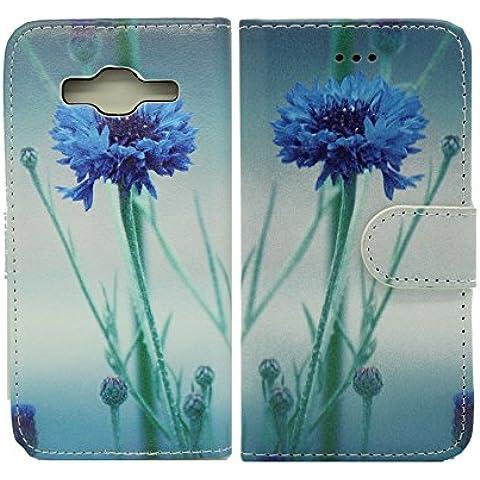 NWNK13® Design Flip Slim a libro e cover per Samsung