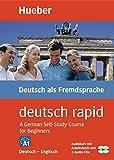 Deutsch rapid, 2 Cassetten und 2 Audio-CDs m. Begleitbuch, Deutsch-Englisch