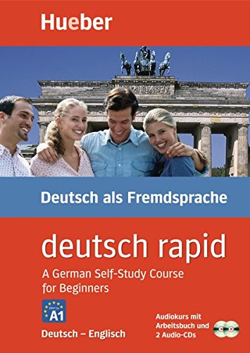 Preisvergleich Produktbild Deutsch rapid, 2 Cassetten und 2 Audio-CDs m. Begleitbuch, Deutsch-Englisch