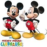 Disney–2figuras de Mickey Mouse para cumpleaños infantiles o fiesta temática