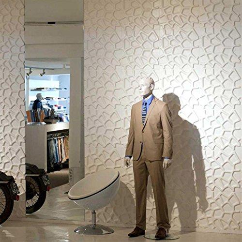 Serien Wand-möbel-system (sunnymi Wand Wandsticker Wandtattoo Für Kinderzimmer Babyzimmer Wandaufkleber Schlafzimmer/PE Schaum 3D Tapete DIY Mädchen Junge Wanddeko Baby Kinder (Unregelmäßiges Netz, weiß))