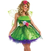 Fancy Me Donna da Fata NINFA Folletto Costume Halloween Vestito UK 6-26  Taglie Forti 13d2fea5b862