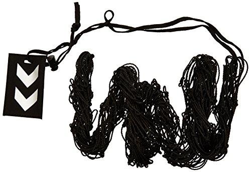Hummel 40-918-2250 - rete per palloni, taglia unica, colore nero/argento