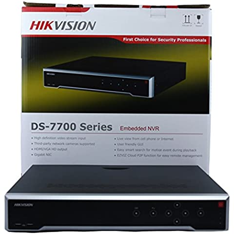 Hikvision ds-7732ni-i4/16P UK Versione Inglese integrate 4 K 32 canali POE NVR