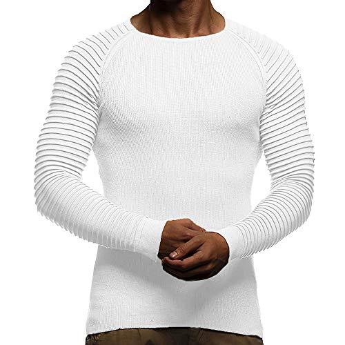 JYJM Herren Head Stitching Langarm Pullover Herren Rundhals Shirt Herren Stitching Color Shirt Herren Langarm Pullover Herren Casual Pullover Herren Outdoor Sport Jacke Herren Winter Mantel