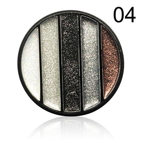 Fards à paupières,Glitter poudre fard à paupières maquillage imperméable teinte ombre pigment Eye cosmétique fard à paupières par LHWY (D)
