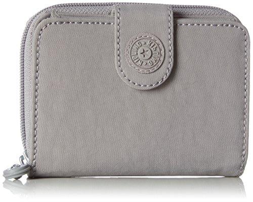 Kipling Damen New Money Geldbörse, Grau (Urban Grey C), 9.5x12.5x0.1 cm