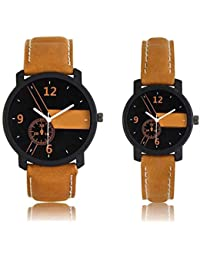 Gopal Shopcart Stylish And Attractive Designer Couple Watch Combo For Men And Women Watch GR_06 Watch - For Couple