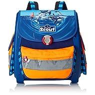 Scout Set de sacs scolaires, Blau/Orange (Bleu) - 72400950900