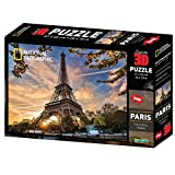 National Geographic – 10080 3D Puzzle Paris – 500 Teile