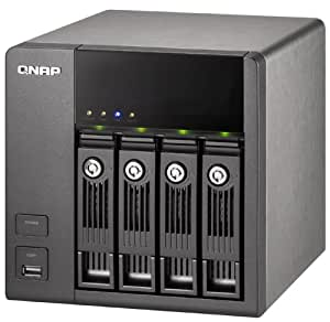 4TB QNAP TS-410 Turbo NAS 4-bay for both 2.5 inch and 3.5 inch HDD wih iSCSI and RAID 800 MHz CPU and 256MB DDRII RAM