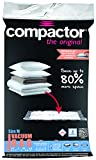 Compactor RAN7368 Aspispace Lot de 5 Sac de Compression Nylon/Polyéthylène Transparent 55 x 90 x 1 cm